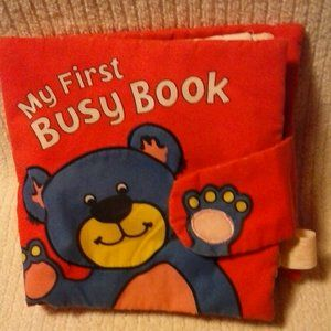 MY FIRST BUSY BOOK (CLOTH)